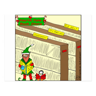 x88 Elf help cartoon Postcard