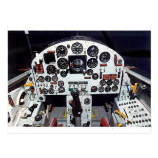 X-15 - MACH 1 COCKPIT POSTCARD