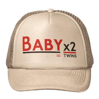 x 2 headgear cap