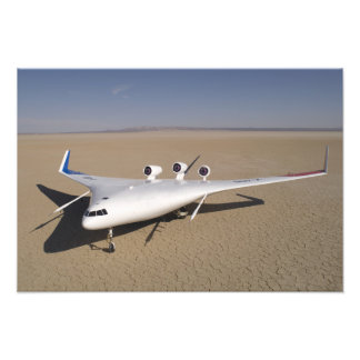 X-48B Blended Wing Body unmanned aerial vehicle Photo Print