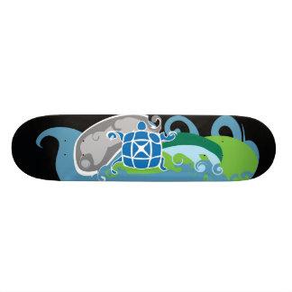 X-board II Custom Skate Board