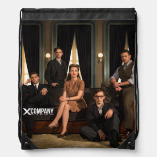 X Company Cast Photo Drawstring Bag