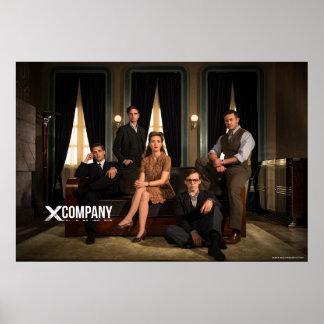 X Company Cast Photo Poster