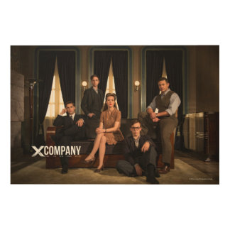 X Company Cast Photo Wood Canvases