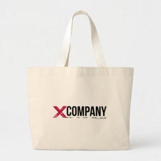 X Company Logo Jumbo Tote Bag