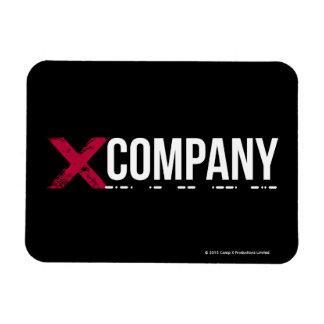 X Company Logo Rectangular Photo Magnet