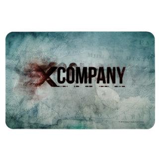 X Company Map Rectangular Photo Magnet
