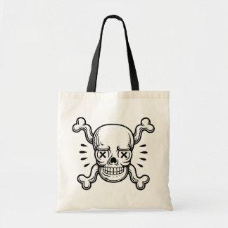 X-Eyed Pirate Budget Tote Bag