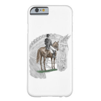 X-Halt Salute Dressage Horse Barely There iPhone 6 Case