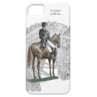 X-Halt Salute Dressage Horse iPhone 5 Cover