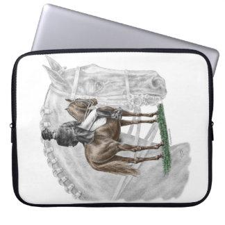 X-Halt Salute Dressage Horse Laptop Sleeve