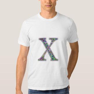 X Illuminated Monogram Shirts
