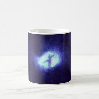 X in Whirlpool Galaxy M51 Mug