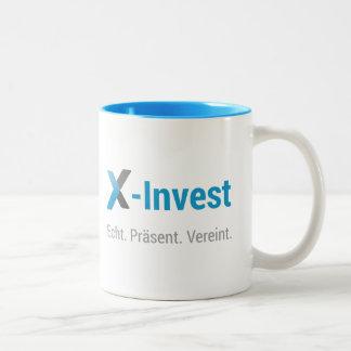 X-Invest Two-Tone Coffee Mug