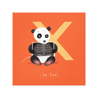 X is for... canvas print