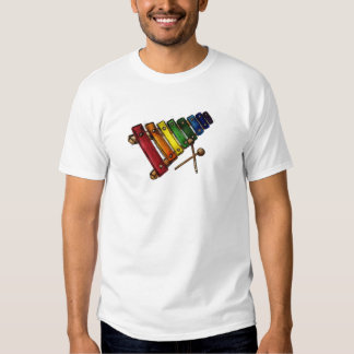 X is for Xylophone T-shirts
