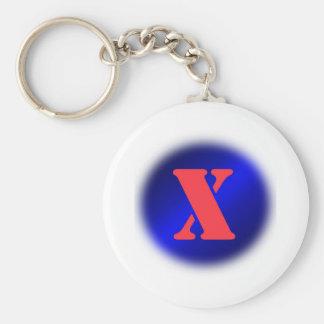 X KEY CHAINS