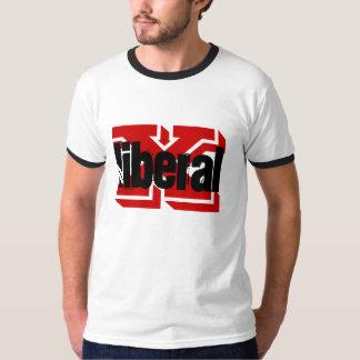 X Liberal T Shirt Tee Men Political Conservative