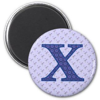 X REFRIGERATOR MAGNET