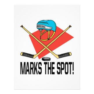 X Marks The Spot Flyer Design