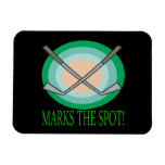 X Marks The Spot Vinyl Magnet