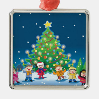 x-mas party christmas ornaments