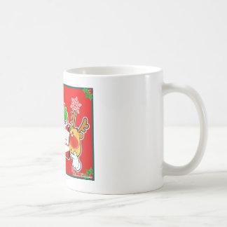 X mas Reindeer Lovely Mugs