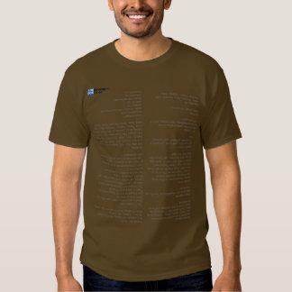 X-pages Cheat Sheet Shirt