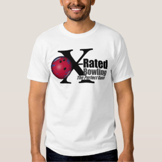 X-Rated Bowling The Perfect Game Tshirt