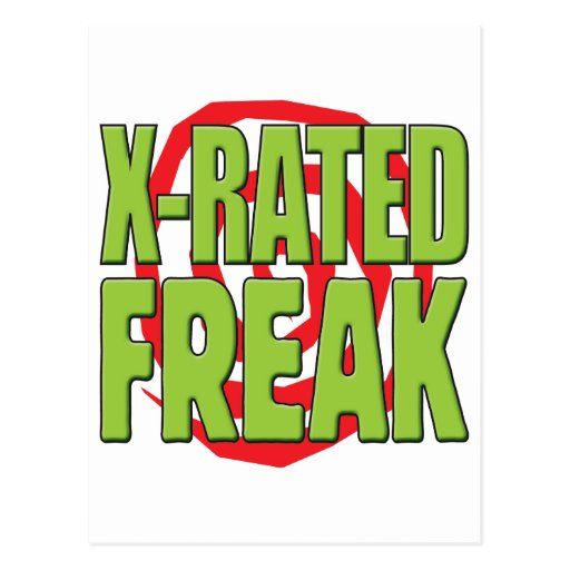 X-Rated Freak G Postcards