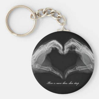 X-Ray Art Basic Round Button Key Ring