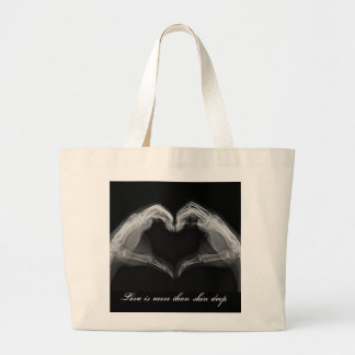 X-Ray Art Large Tote Bag