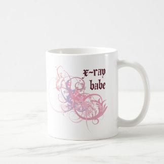 X-Ray Babe Coffee Mugs