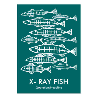 X-RAY FISH - Moss Green Business Card Template