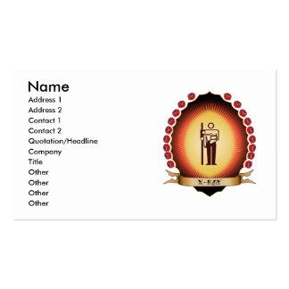 X-Ray Mandorla Business Card Template