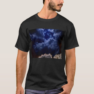 X-Ray Night Sky by KLM T-Shirt