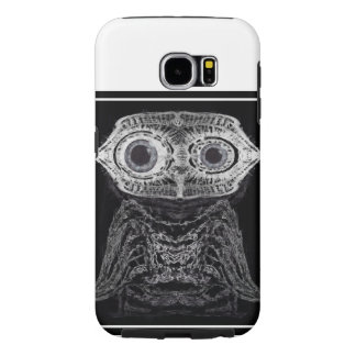 X-ray Owl Samsung Galaxy S6 Cases
