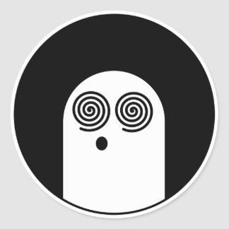 X-Ray Pervert Round Sticker