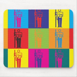 X-Ray Pop Art Mouse Pad