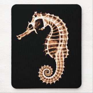 X-ray Seahorse - Mousepad