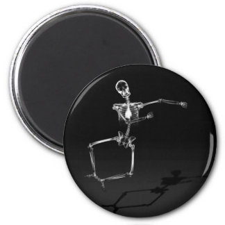 X-RAY SKELETON JOY LEAP B&W MAGNET
