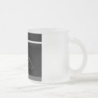 X-RAY SKELETON SOCCER GOALIE B W COFFEE MUGS