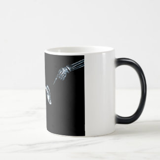 X-Ray Skeletons Blue Bad Dog Coffee / Beer Mugs