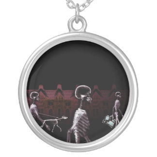 X-Ray Skeletons Midnight Stroll - Original Personalized Necklace
