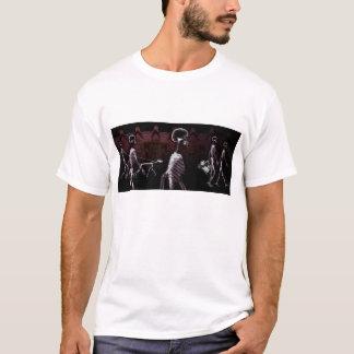 X-Ray Skeletons Midnight Stroll T-Shirt