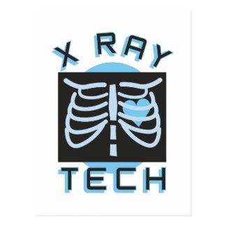 X-Ray Tech Postcard