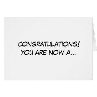 X-ray Tech Purple Fushia congratulations card