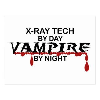 X-Ray Tech Vampire by Night Postcard