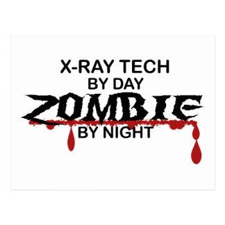 X-Ray Tech Zombie Postcard