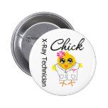 X-Ray Technician Chick 6 Cm Round Badge